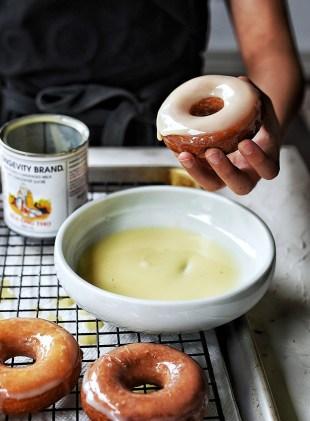 glazed mochi donut