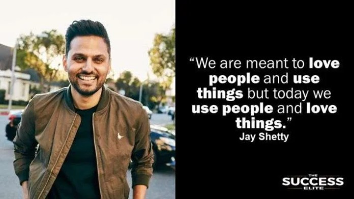 Jay Shetty Quote Discovered By Ayan On We Heart It