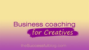 Business coaching for creatives