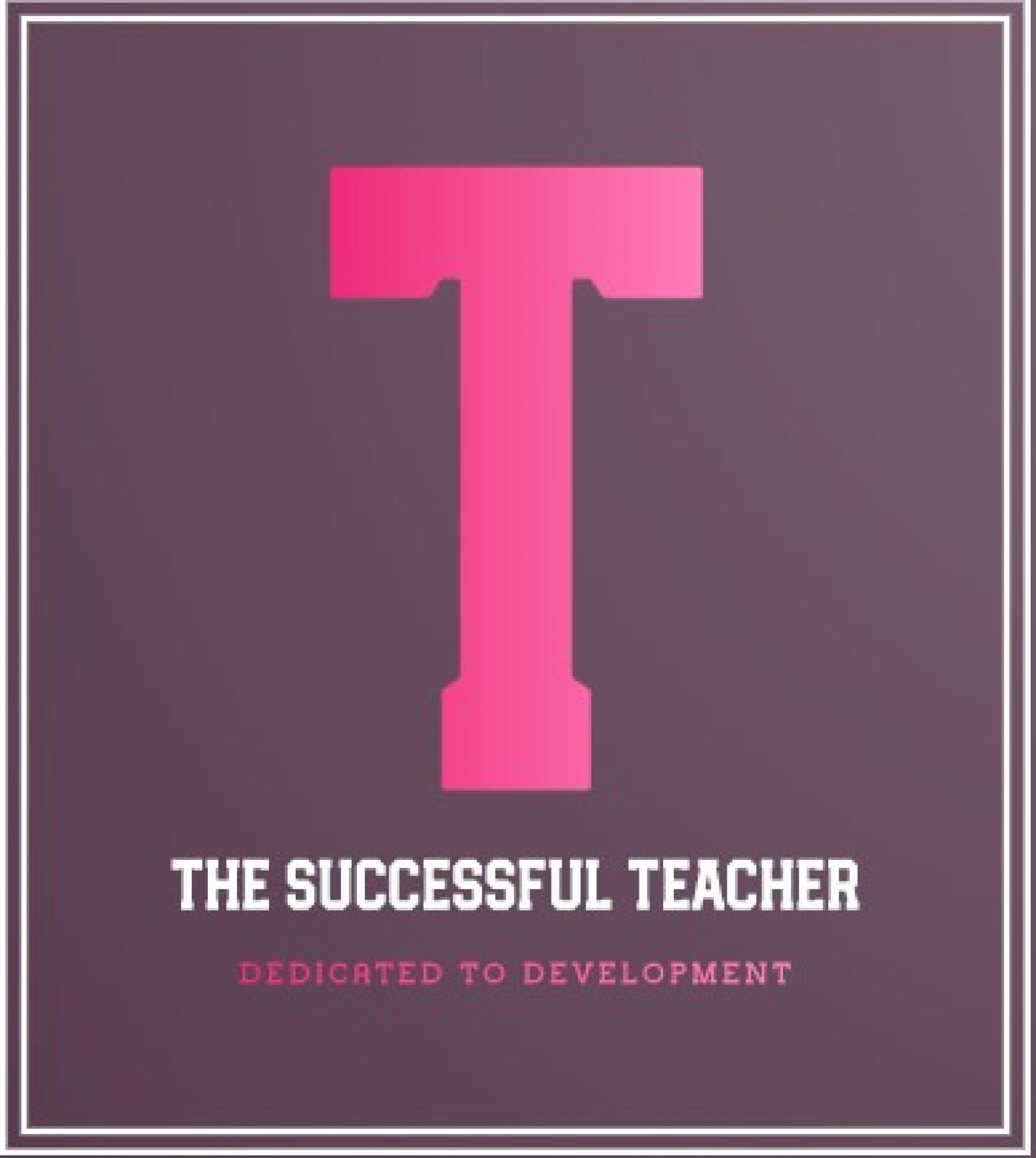 The Successful Teacher
