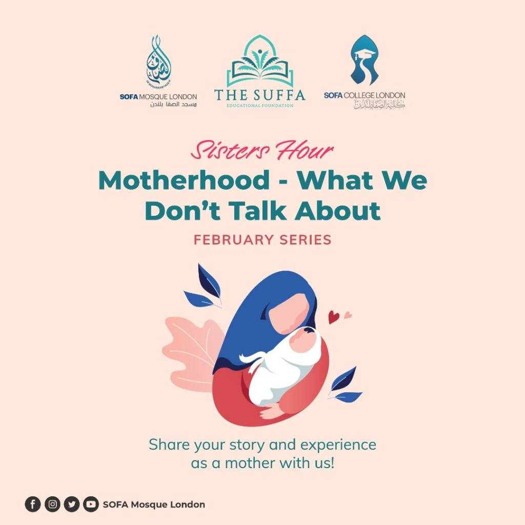 Poster for Sisters Hour - 'Motherhood Theme'