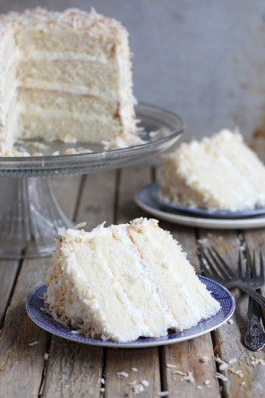 southern coconut cake via completely delicious