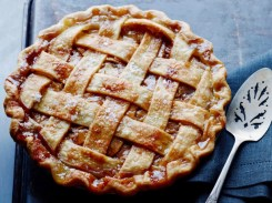 salted caramel apple pie via the cooking channel