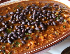 butternut squash black bean chili via meatless monday