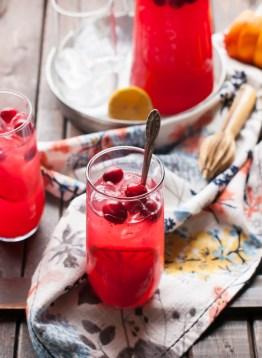 winter lemonade cranberry blood orange via the kitchen mccabe