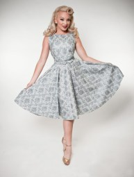 hoh_mercedes dress cinderella silver