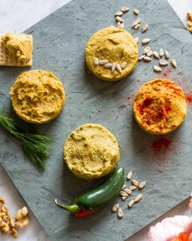 vegan cheese via sweet potato soul