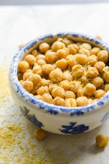 cheetos style chickpeas via the kitchn