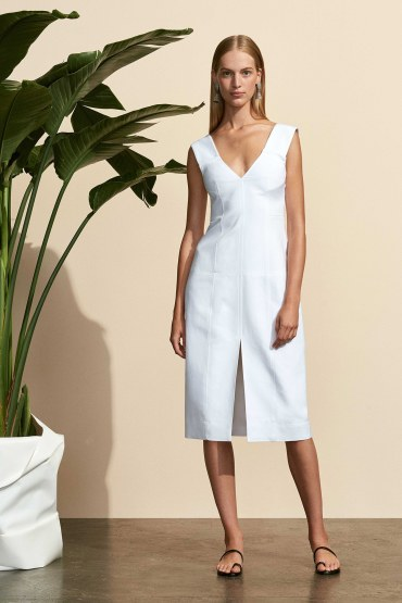 protagonist-white dress - spring2017-rtw-look2-via-vogue-runway