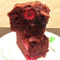 Raspberry Chocolate Brownies