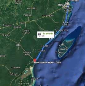 Mezzanine Hotel to Cancun trip