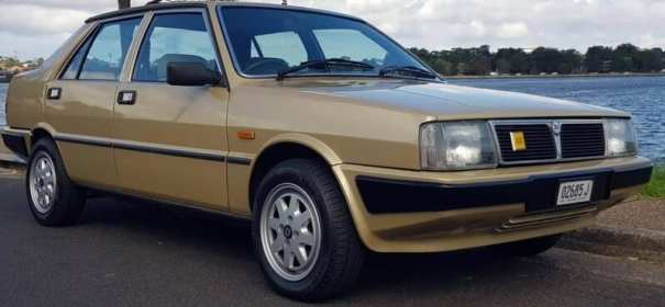 Car possibly involved in Angela Celentano's disappearance. Metallic Gold, Lancia Prisma with Perugia license plate.