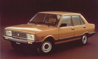 Fiat 131, Brown. Similar to that described by the witness in the Angela Celentano case.