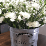 How To Make A Stenciled French Flower Market Bucket Lz Cathcart