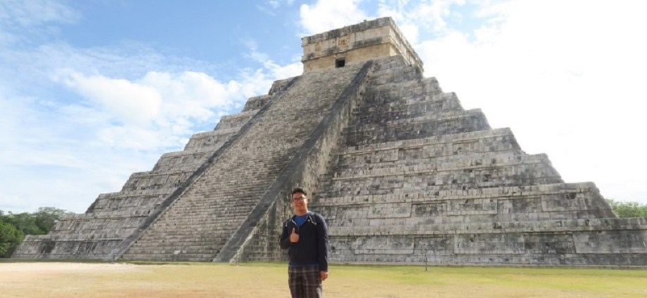 Adi and Chichen Itza