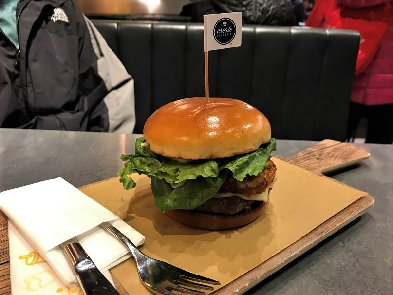 Create your own burger at McDonald's Budget Breakdown 7 Days Exploring Hong Kong