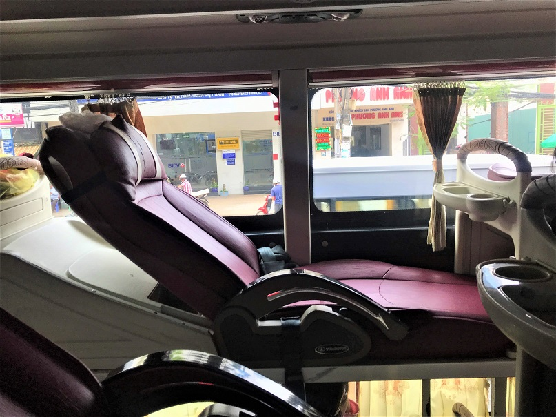 Vietnam's sleeper bus Budget Breakdown Solo Travel in South Vietnam