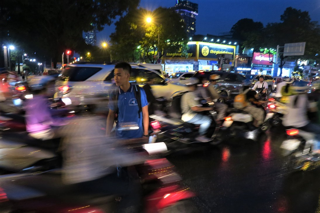 Saigon Traffic Budget Breakdown Solo Travel in South Vietnam