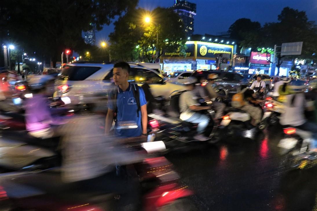 Saigon Traffic Budget Breakdown Solo Travel in South Vietnam