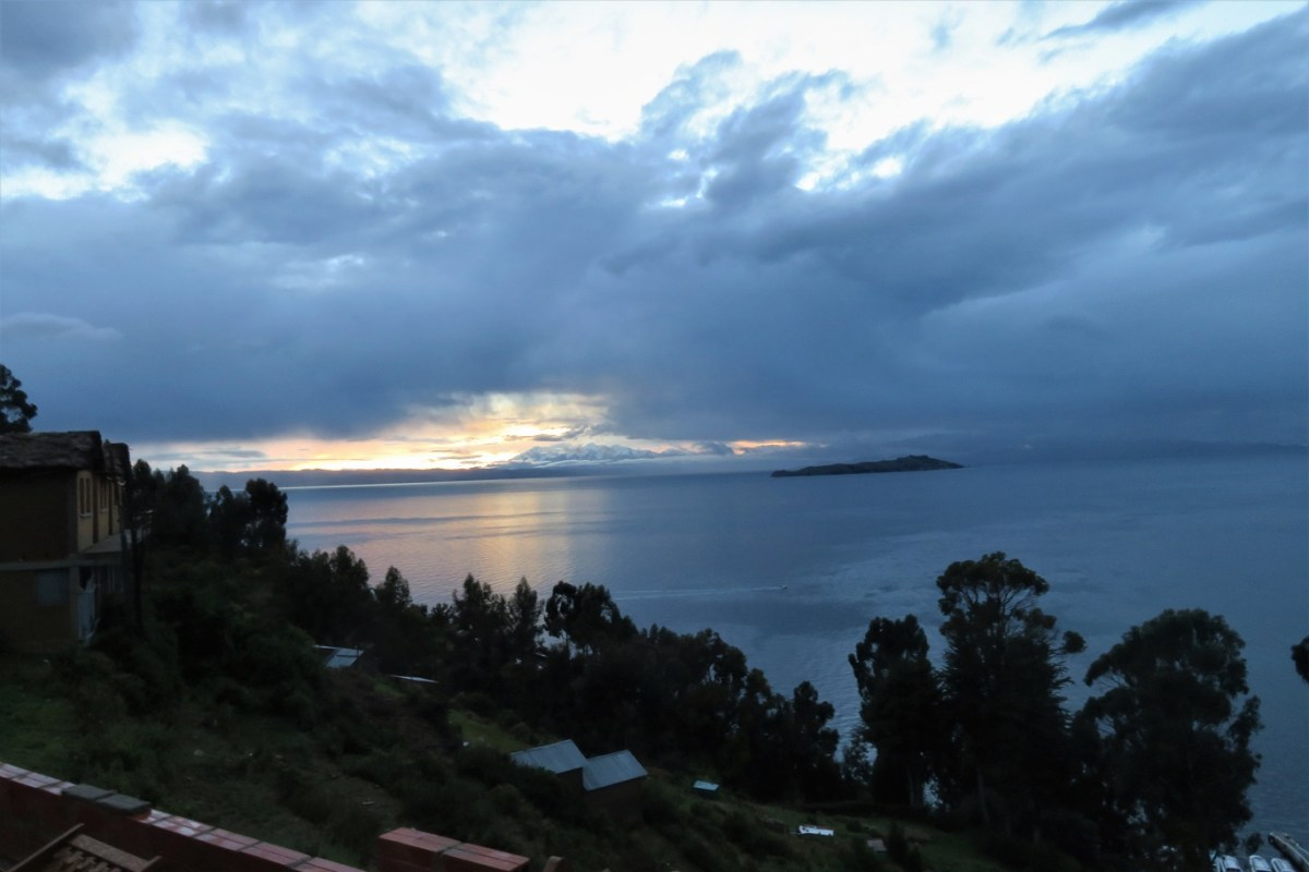 Sunrise-from-hostel-Isla-del-sol-Budget-Breakdown-The-Cost-of-Travelling-Bolivia