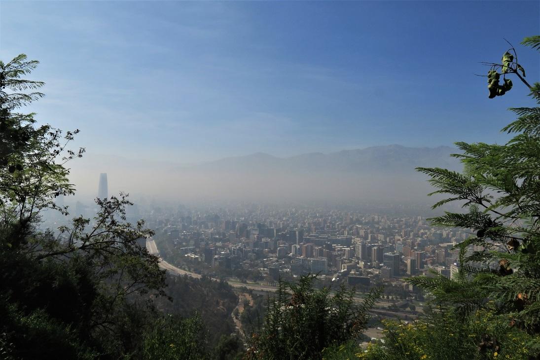 View-of-Santiago-from-Cerro-San-Cristobal-Budget-Breakdown-8-Days-in-Chile