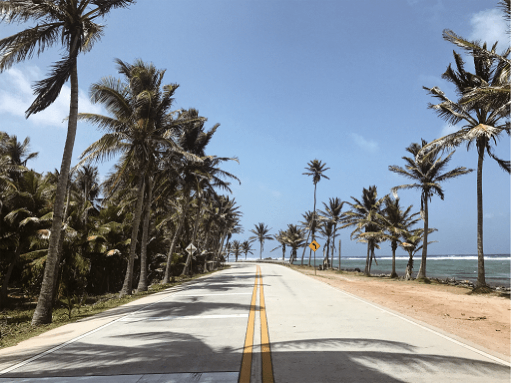 San-Andres-beach-road-Budget-Breakdown-The-Cost-of-Backpacking-Colombia