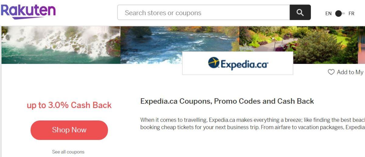 Rakuten-Expedia-cashback