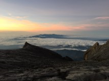 The sky above Kinabalu.