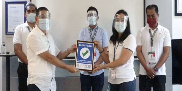 Power firm gets safety seal