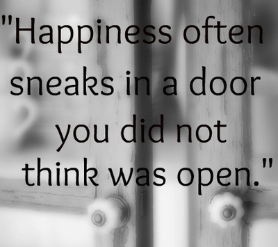 Happiness-often-sneaks-in-a-door