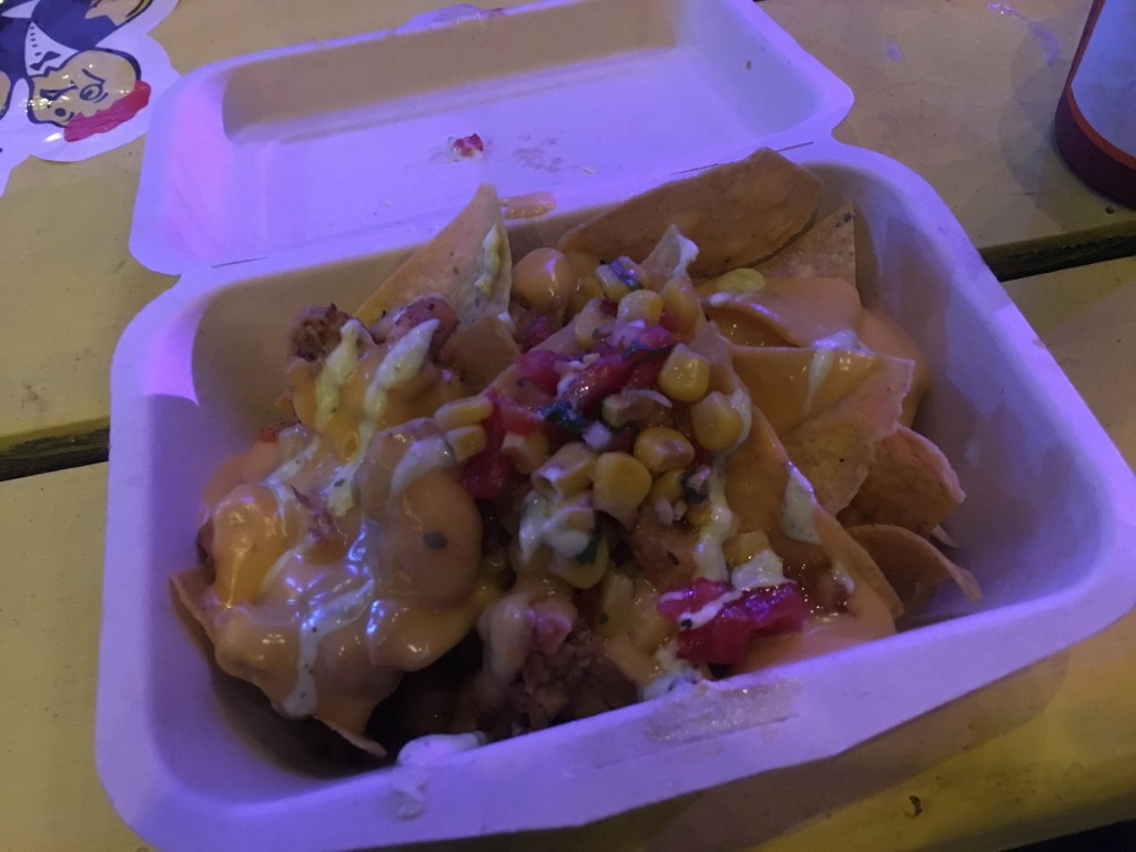 Seafood Nachos from Pink Apron at Kingston Kitchen
