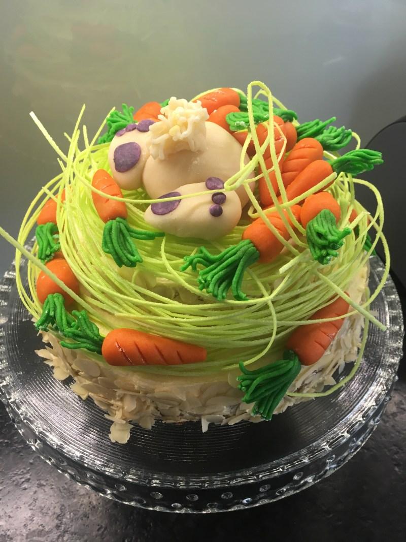 Ostern, Ostertorte, Marzipan, Rüblitorte, was für einen Kuchen mache ich zu Ostern,