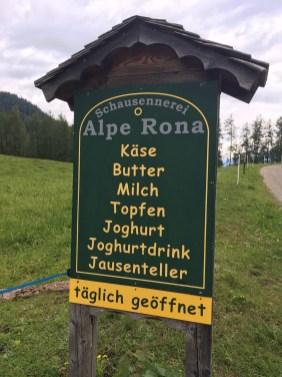 Alpe Rona, Spielplatz Bürserberg