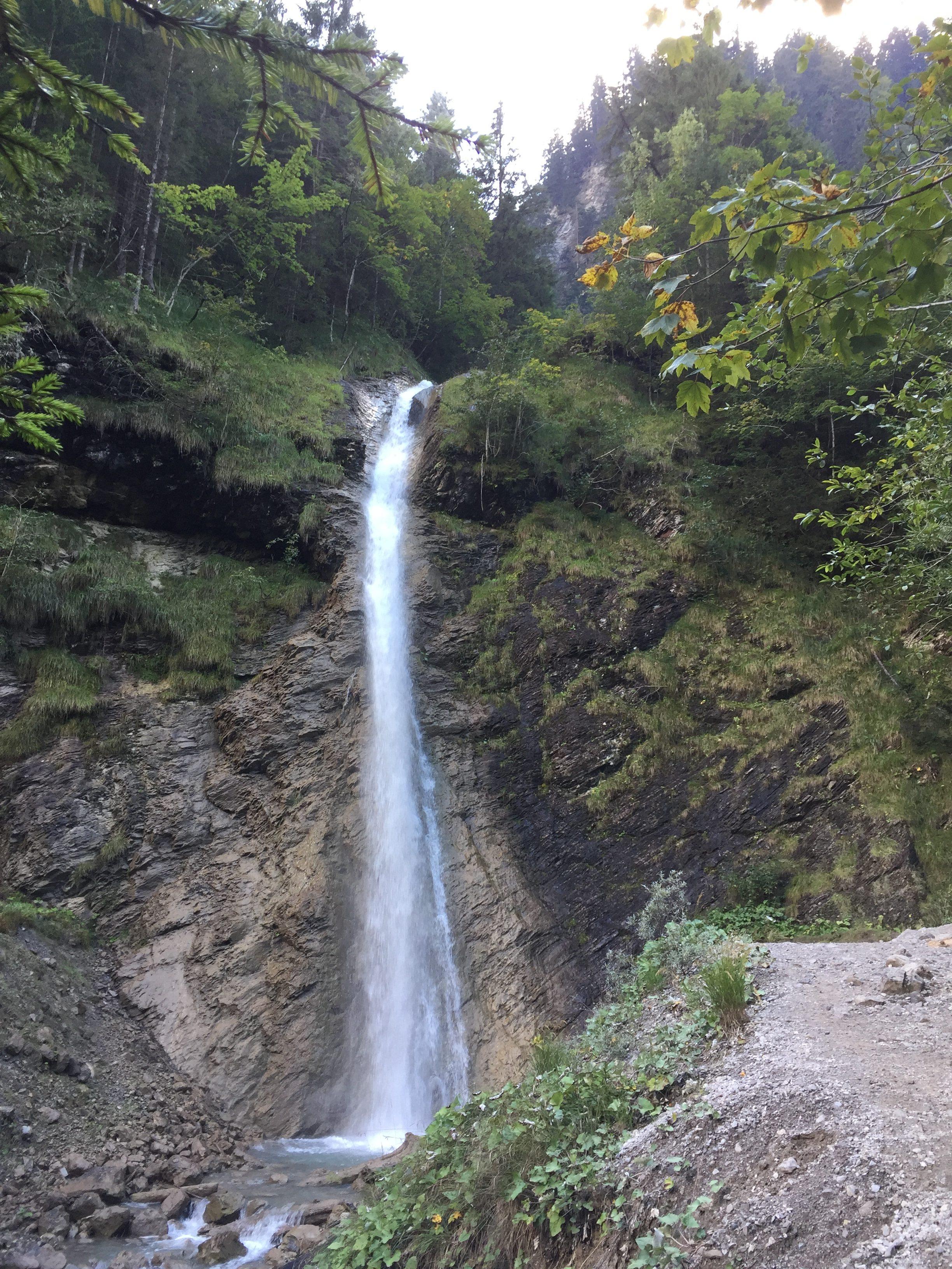 Wasserfall Marul, Wandern mit Kindern, Vorarlberg, Walderlebnispfad Marul, Biosphärenpark Marul