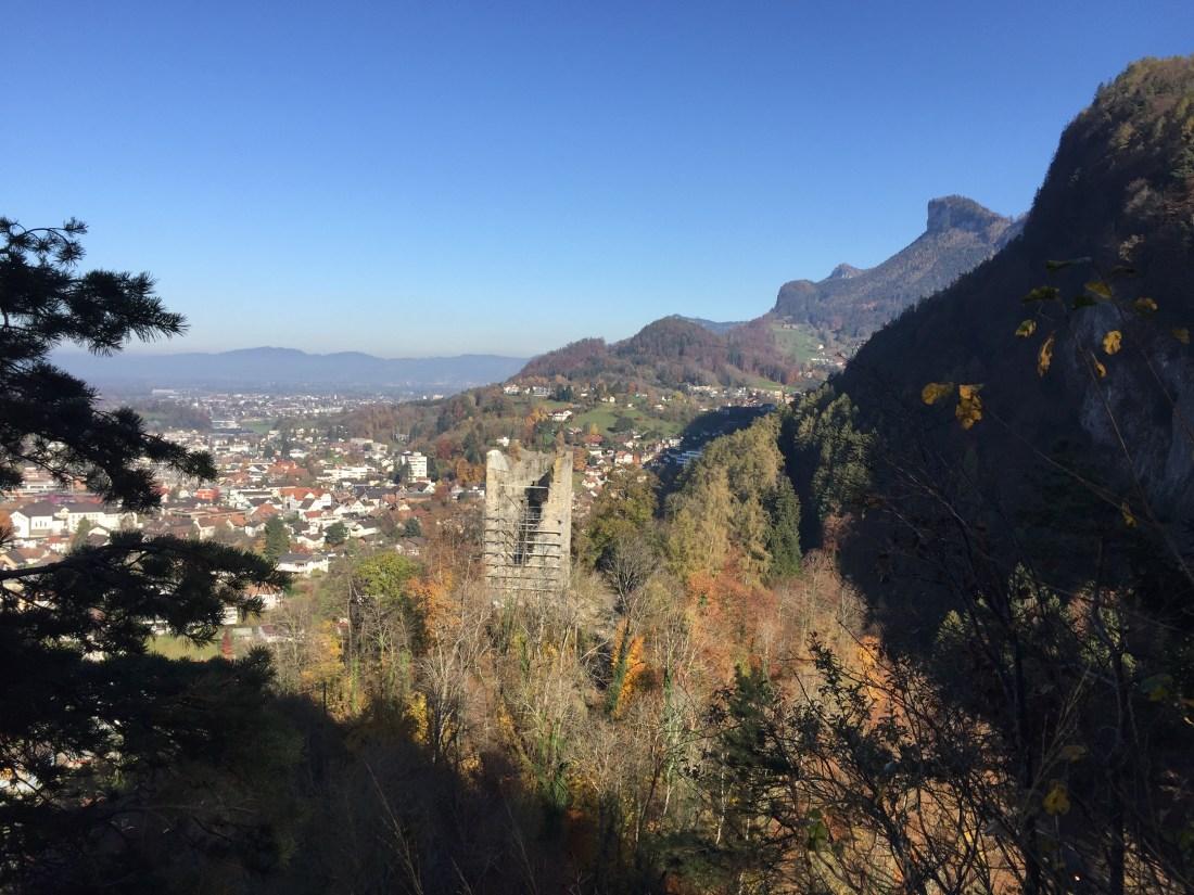 Götzis Therenberg, Neu Montfort, Ruinen in Vorarlberg, Wandern mit Kindern, Burgen erkunden, Vorarlberg, tssok