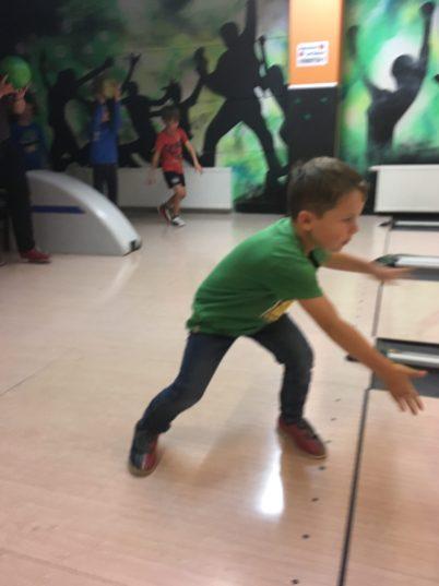 bowling mit Kindern, strike Lauterach