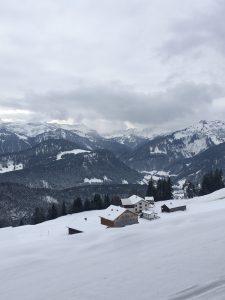 Winterwanderweg Sonderdach, bezau