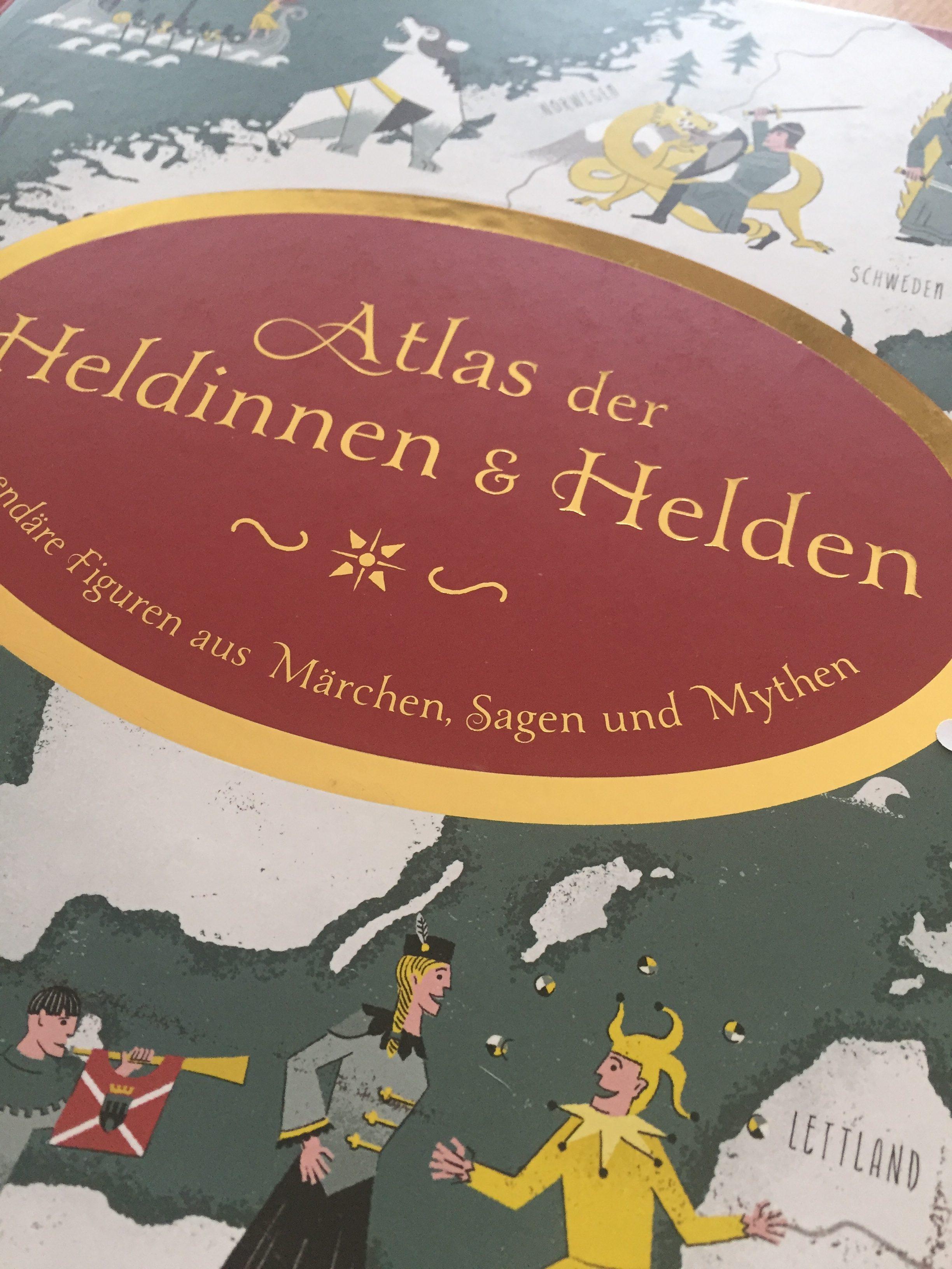 Atlas der Heldinnen und Helden, Kinderbuch, wunderschöne Illustration, Inspiration chid book, child books 2021