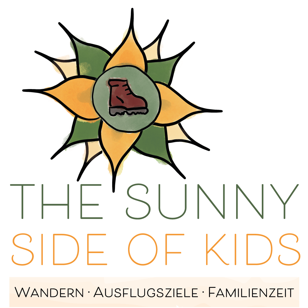 thesunnysideofkids, wandern in vorarlberg, logo, best logo hiking