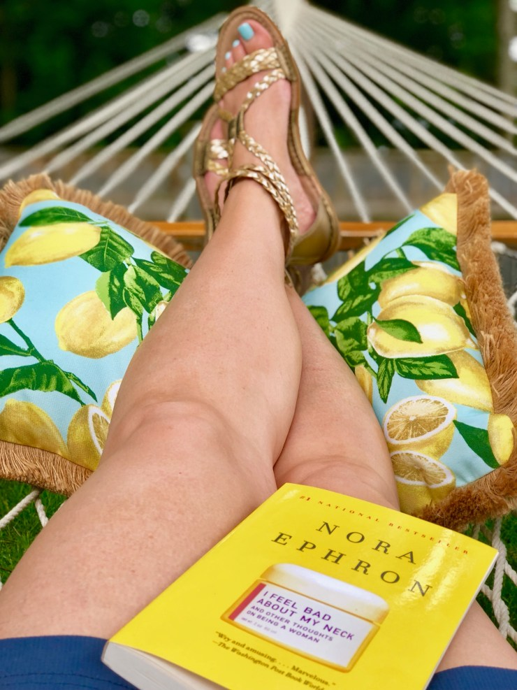 Sunny Side in hammock