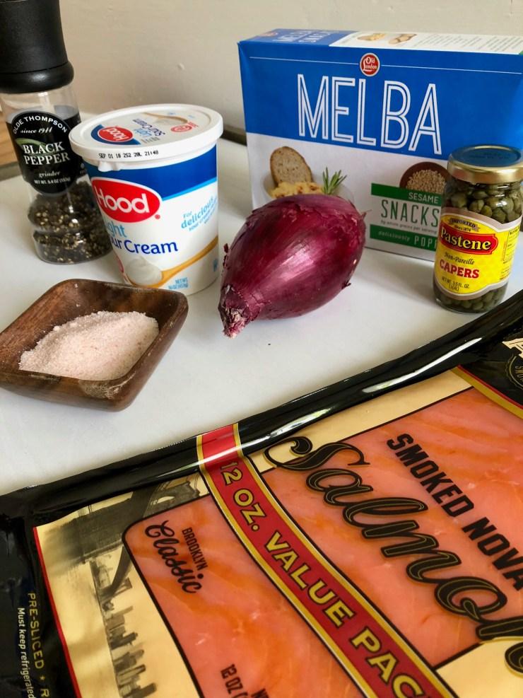 Smoked Salmon Appetizer Ingredients