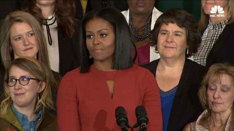 Michelle Obama Signs Off as First Lady: 'I Hope I've Made You Proud'