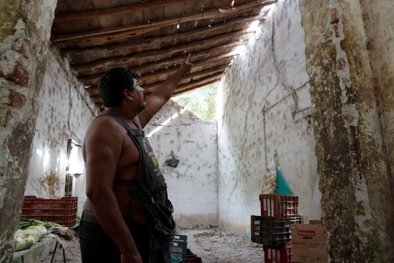 Ixtaltepec, the hidden face of the tragic earthquake in Mexico