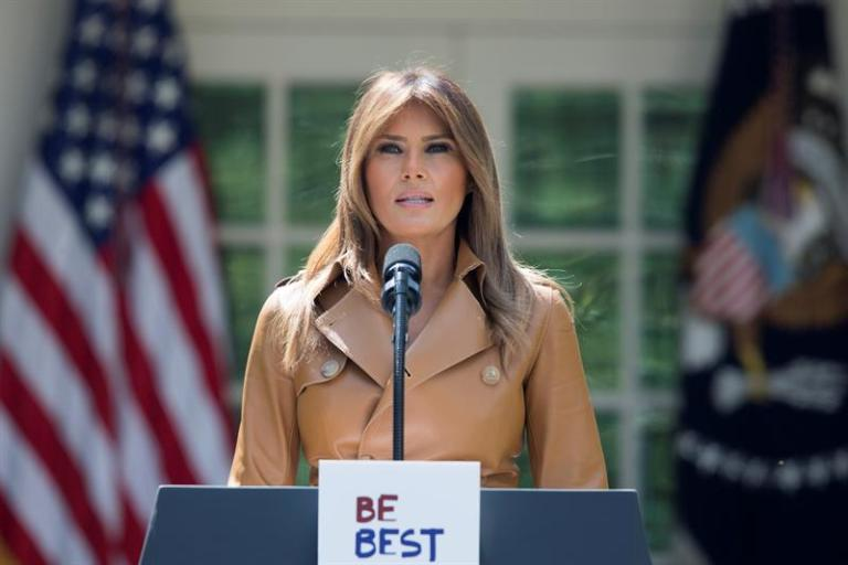 Melania Trump and first lady Colombia will tackle the drug crisis