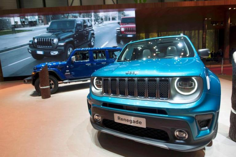 Sales of Fiat Chrysler fell by 3% in the first quarter