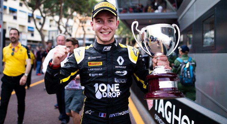 The French pilot Anthoine Hubert dies in a terrible accident in the F2 of Spa