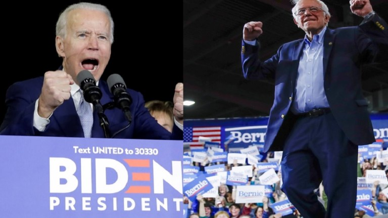Biden wins in nine of the fourteen states of the 'super Tuesday' and Sanders wins in three