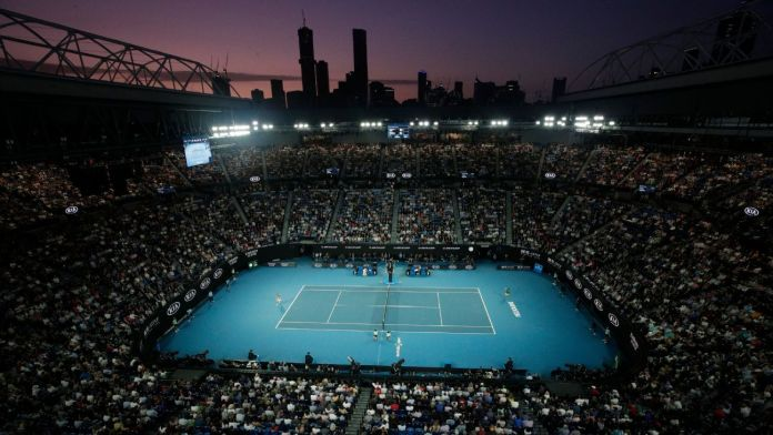 Tennis players must pass a 14-day quarantine before the Australian Open