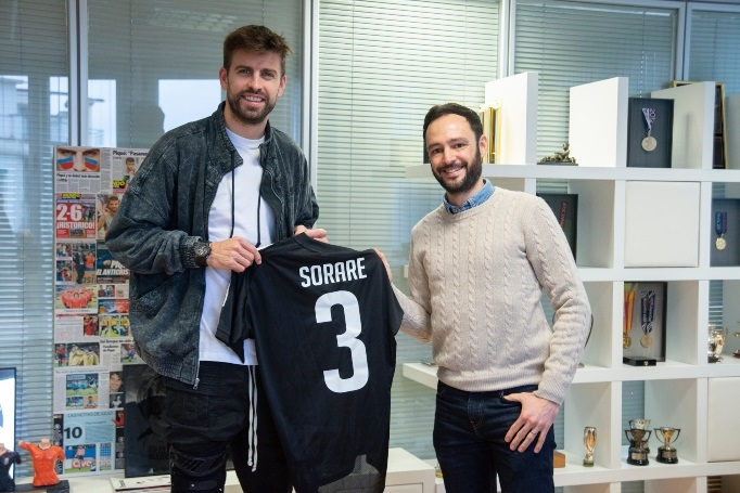 Gerard Piqué bets on fantasy football and invests 3 million euros in the Sorare company