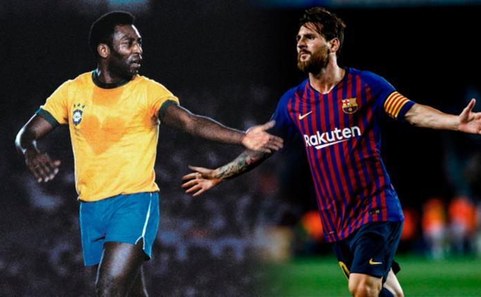 Messi surpasses to Pelé like top scorer of the same club